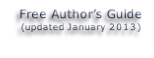 Free Author's Guide (updated January 2013)
